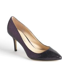 Enzo Angiolini Call Me Leather Pumps - Lyst