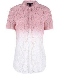 Burberry Prorsum Short Sleeve Shirt - Lyst
