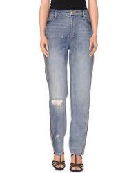 Sass & Bide | Denim Trousers | Lyst