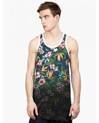 Y-3 Men'S Floral Printed Vest floral - Lyst
