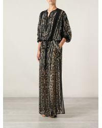 Roberto Cavalli Leopard Print Tunic Dress - Lyst
