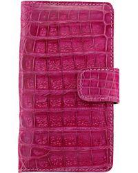 Anne Sisteron - Crocodile Iphone 6 Case - Pink - Lyst