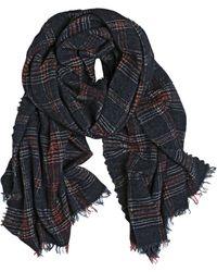Faliero Sarti Lidixia Plaid Wool Blend Scarf - Lyst