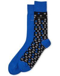 BOSS - 2-Pack Geometric Socks - Lyst