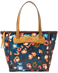 Fossil Floral Keyper Shopper - Lyst