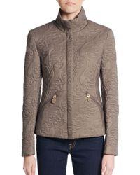 Tahari - Sydney Quilted Jacket - Lyst