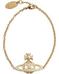 Vivienne Westwood Radha Low Relief Bracelet - Lyst