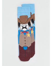 Topman Cowboy Character Socks - Lyst