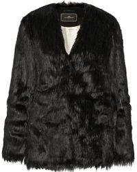 By Malene Birger Zannaz Faux Fur Coat - Lyst