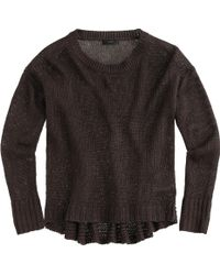 J.Crew Textured Beach Sweater - Lyst
