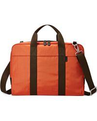 Fossil Mercer Document Bag - Orange