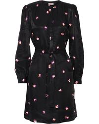 See By Chloé Floral-Print Twill Dress - Lyst