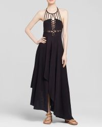 Free People Dress - Beautiful Stranger Knit Maxi black - Lyst