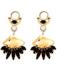 Lizzie Fortunato Jewels Fan Drop Earrings - Lyst