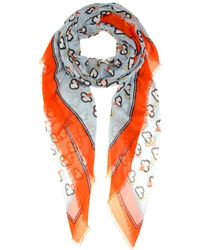 Anya Hindmarch Weather Printed Scarf - Lyst