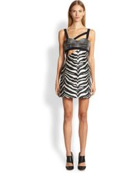 Emanuel Ungaro Silk Multi Print Dress - Lyst