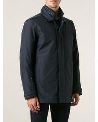 Zegna Sport - Padded Lined Raincoat - Lyst