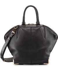 Alexander Wang Emile Pebbled Leather Angled Tote Bag - Lyst