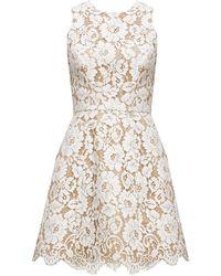 Alice + Olivia Leann Sleeveless Bell Dress - Lyst