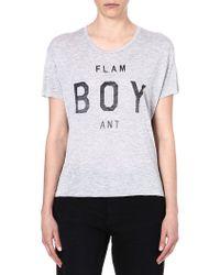 Zoe Karssen Flam Boy Ant T-shirt - Lyst