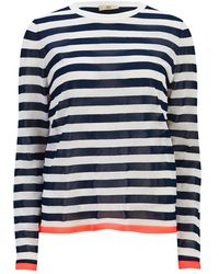 Orla Kiely - Women's Striped Jumper - Lyst