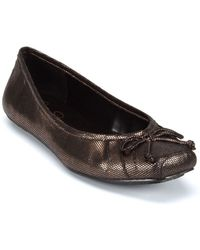 Jessica Simpson Leve Striped Ballet Flats - Lyst