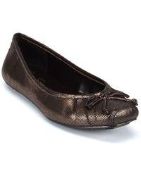 Jessica Simpson Leve Striped Ballet Flats - Lyst