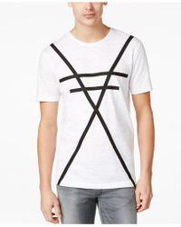 BOSS | Boss Crossed-line T-shirt | Lyst