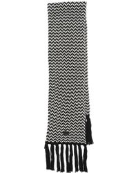 Bickley + Mitchell - Fringe Scarf - Black - Lyst