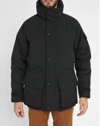 Penfield   Black Fur-lined Hooded Collar Parka   Lyst