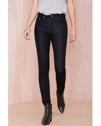 Nasty Gal Janelle Jeans - Black - Lyst