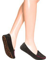 Hue - Velvet Loafer S Slippers - Lyst