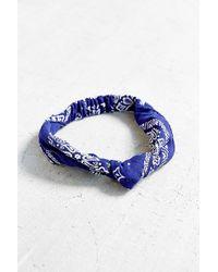 Urban Renewal - Recycled Bandana Knot Headband - Lyst