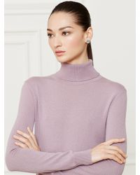 Ralph Lauren Collection Cashmere Turtleneck - Lyst