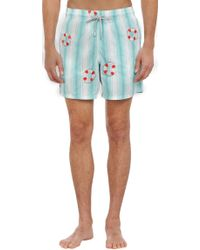 Vilebrequin Embroidered Lifesavers Swim Trunks - Lyst