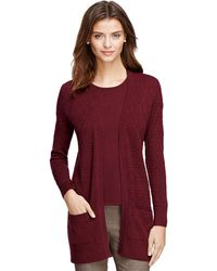 Brooks Brothers Silk and Cashmere Cardigan - Lyst