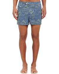Petronius - Paisley Swim Shorts - Lyst