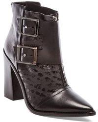 Tibi Black Piper Boot - Lyst
