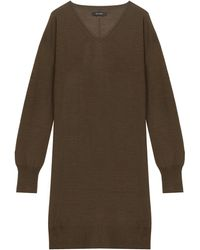 Isabel Marant Travis Cashmere Dress - Lyst