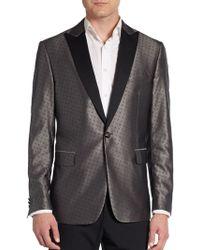 Etro Regular-fit Paisley Smoking Woolsilk Sportcoat - Lyst