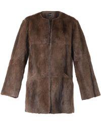 Isabel Marant Adele Fur Jacket - Lyst