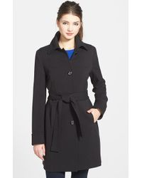 Kenneth Cole Single-Breasted Coat - Lyst