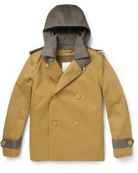 Band Of Outsiders Brown  Peacoat - Lyst