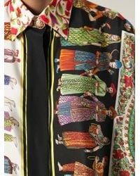 Versace 'Historical Figure' Shirt - Lyst