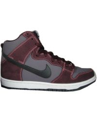 "Nike Sb Dunk High ""Eggplant Plums"" multicolor - Lyst"