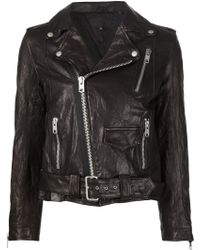 Nili Lotan Biker Jacket - Black