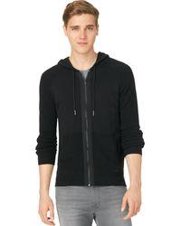 Calvin Klein Jeans Mixed-stitch Hoodie - Lyst