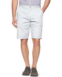 Calvin Klein Bedford Chino Shorts - Lyst