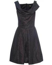 Vivienne Westwood Anglomania Brown Halton Dress - Lyst