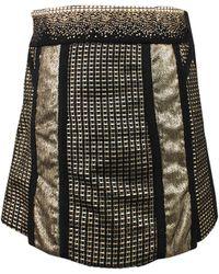 Marchesa Voyage - Embellished Mini Skirt - Lyst